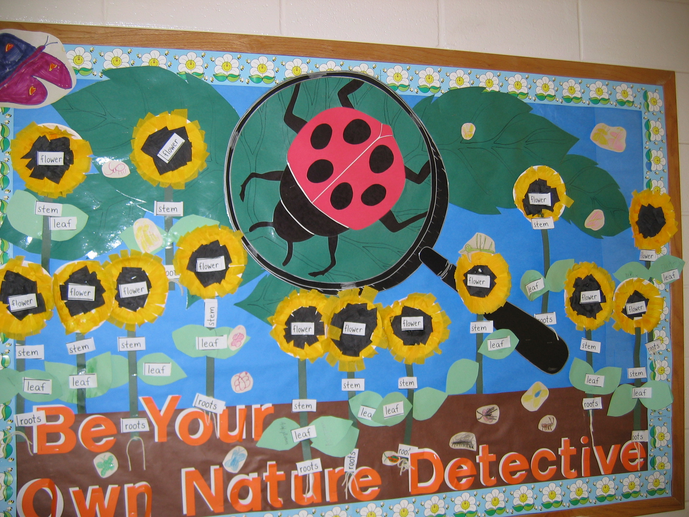 Flossies Penchant For Bulletin Board Design on Spring Work Bulletin Board Ideas